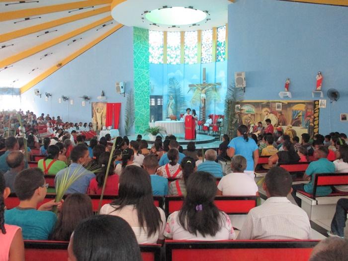 Missa de Ramos  da PNSR