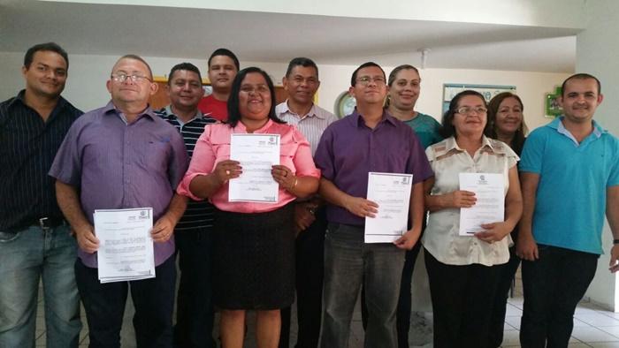 Novos gestores recebendo portarias e tomando posse nos cargos em José de Freitas