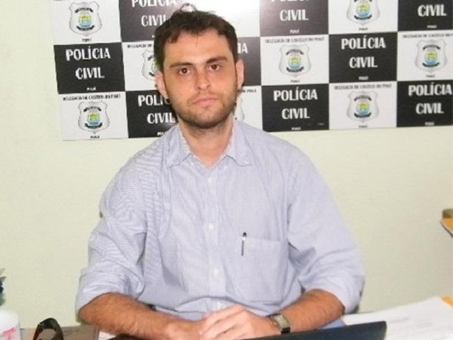 Delegado da  Polícia Civil de Esperantina, Igor Rocha Gadelha