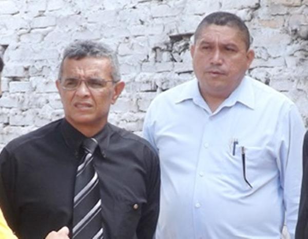 Promotor Flavio Teixeira e prefeito Josiel