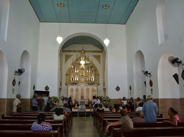 Velório ocorreu durante todo o dia de hoje, segunda-feira (14) na Catedral de S. Raimundo Nonato
