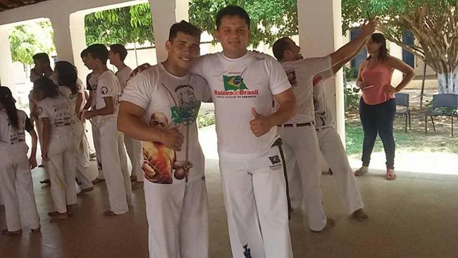 Professor Cujuba (esquerda) e kadu Pinheiro (direita)