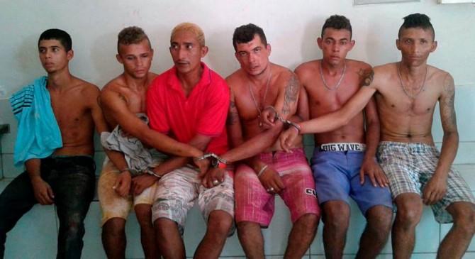 Seis foram presos em Altos-PI