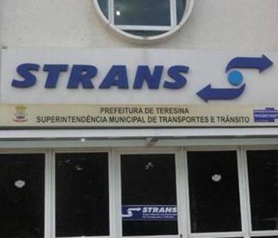 Sede da Strans em Teresina-PI