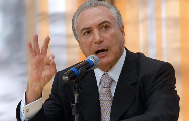 Temer envia carta á presidente Dilma se dizendo insatisfeito com tratamento recebido