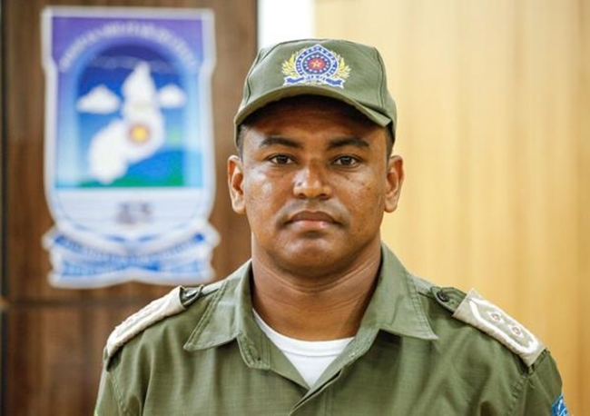 Tenente Pedro Moreira (imagem: GP1)