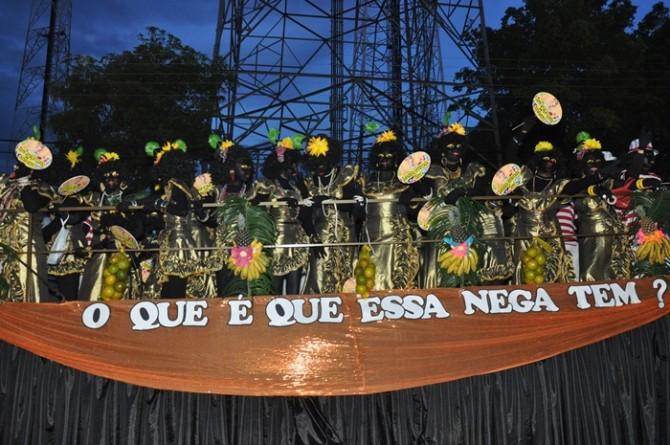 Bloco Nega Maluca, tricampeão (Foto: 500graus)