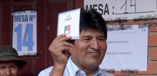 Evo Morales vai apenas terminar de cumprir seu segundo mandato