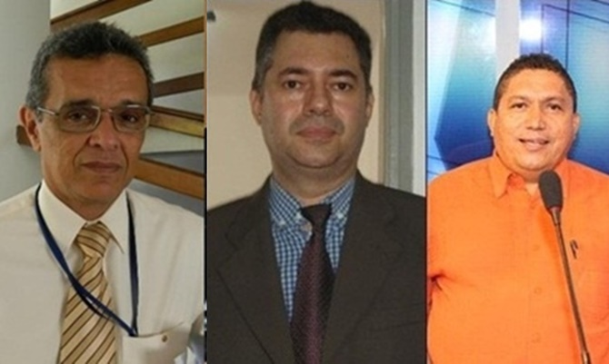 Promotor Flavio Teixeira, Juiz Lirton Santos e Prefeito Josiel