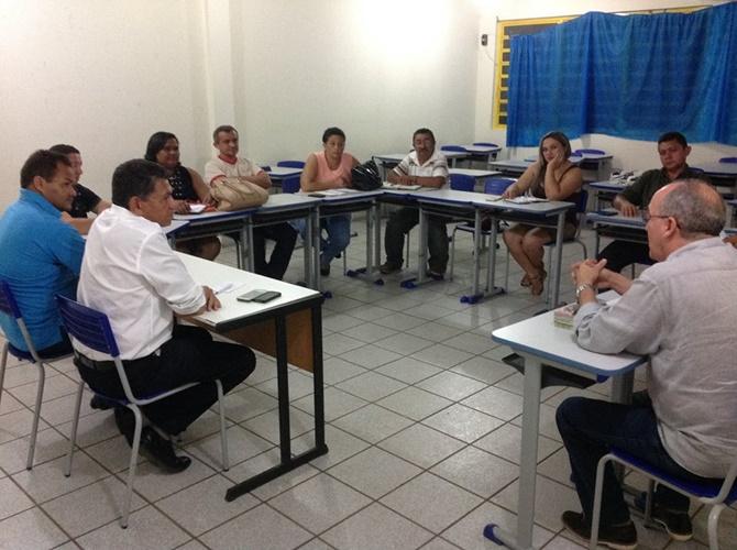 Com o apoio do deputado João de Deus, diretores debatem organização do 1º Salão do Livro de José de Freitas