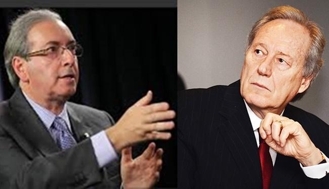 Eduardo Cunha e Ricardo Lewandowski