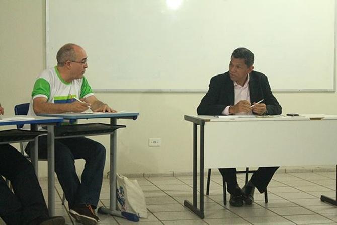 Prof. Wellington Soares e dep. João de Deus