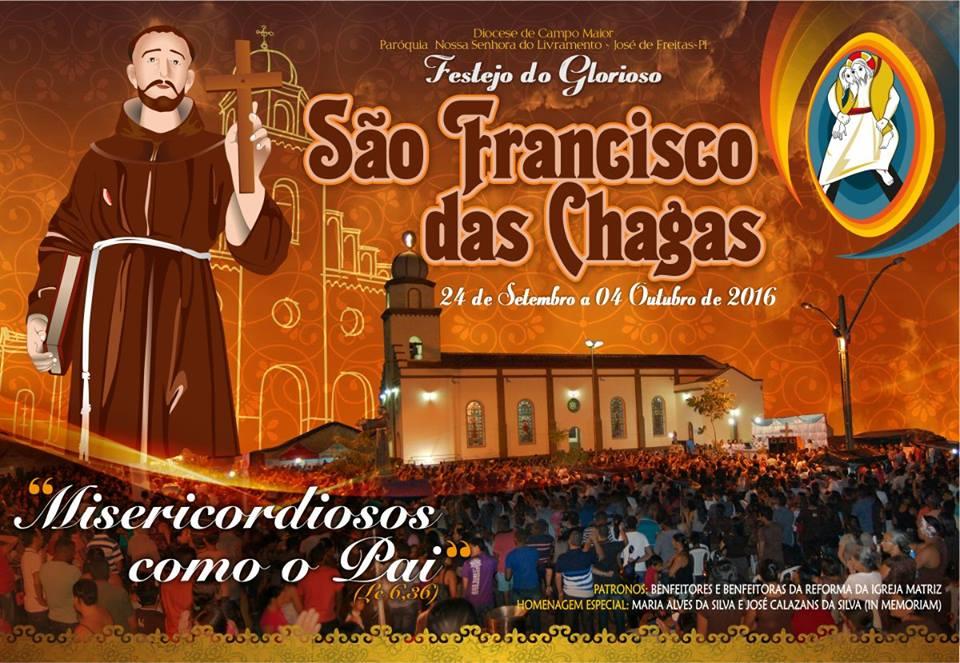 Veja a programação dos festejos de São Francisco em José de Freitas