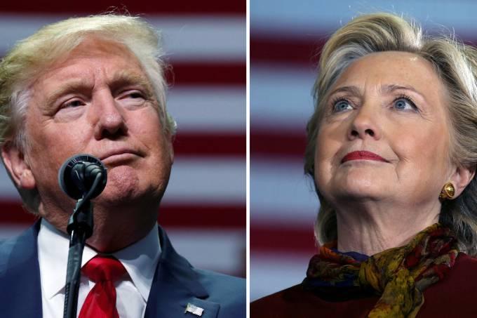Trump vence a favorita de todas as apostas Hillary Clinton