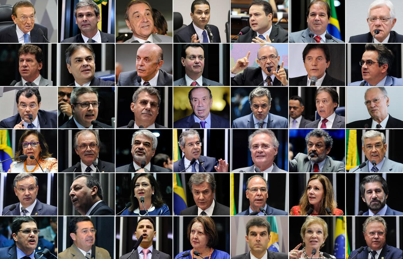 Lista de Fachin inclui 9 ministros de Temer e 29 senadores, entre eles, Ciro Nogueira