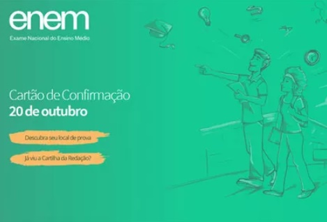 Local de prova do Enem será divulgado nesta sexta; veja como recuperar senha para acessar o site