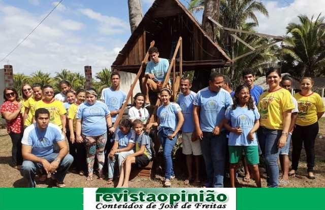 Alunos da APAE encerram atividades do 1º semestre com passeio religioso na zona rural de José de Freitas