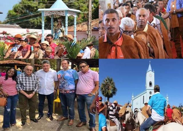 Procissão, Missa, Fé, Forró e muita animação marcam o dia dos Vaqueiros em José de Freitas