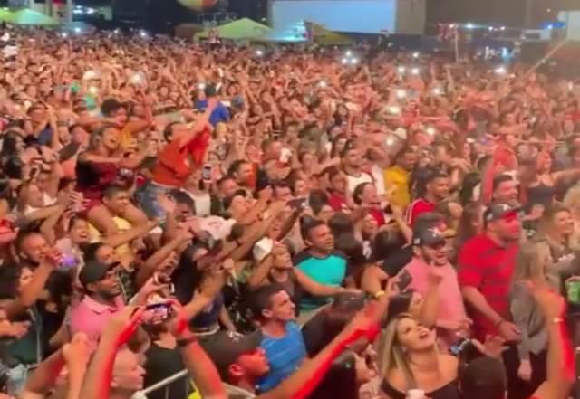 Xand Avião & Zé Cantor arrastam multidão ao Centro de Eventos São Francisco em José de Freitas